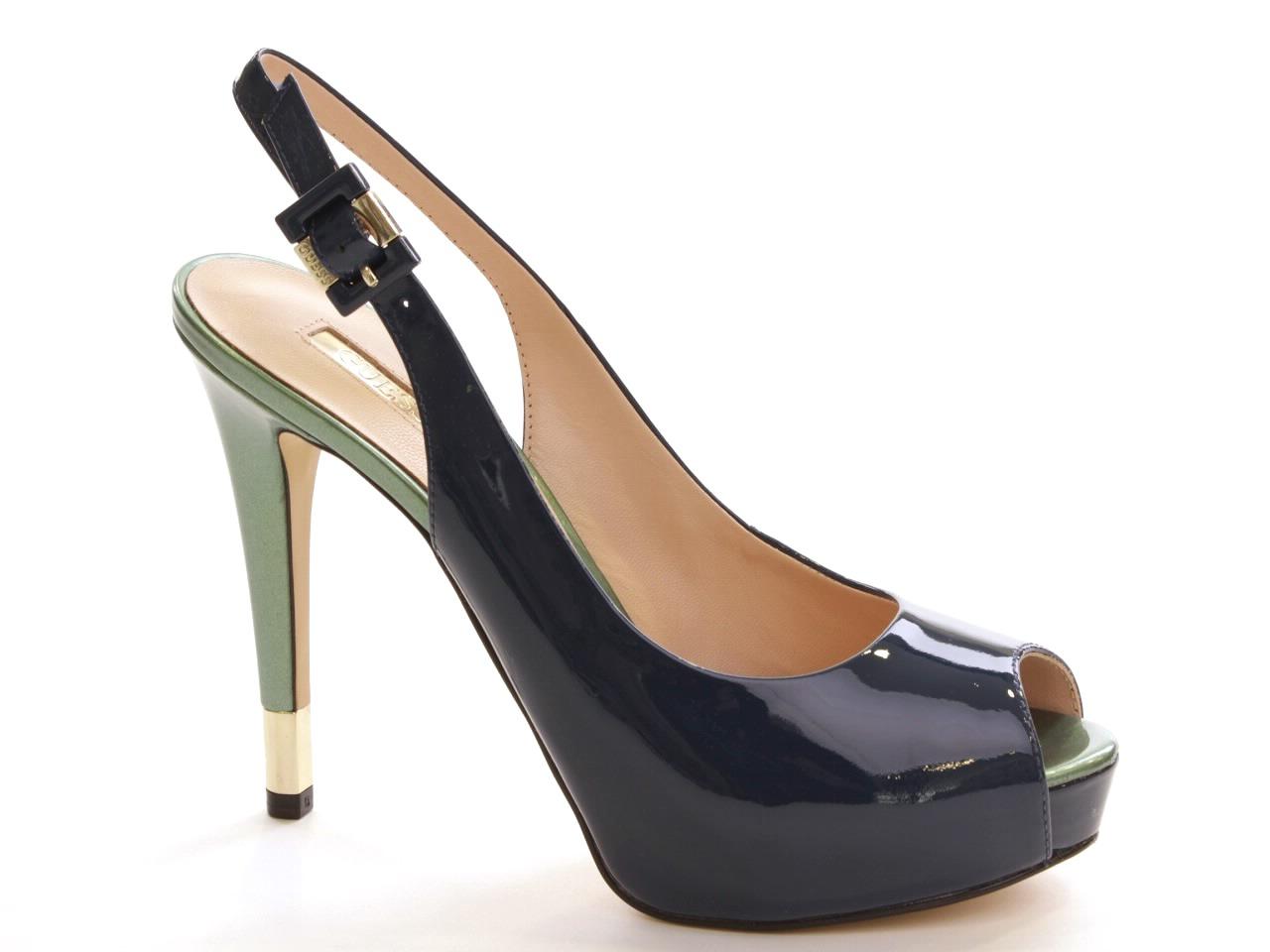 Sandálias de Salto Guess - 465 FL2HDEPAT07