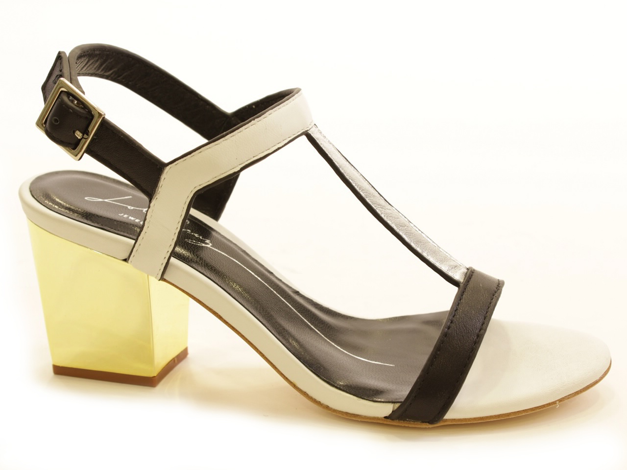 Sandálias de Salto Lola Cruz - 622 506Z10BK