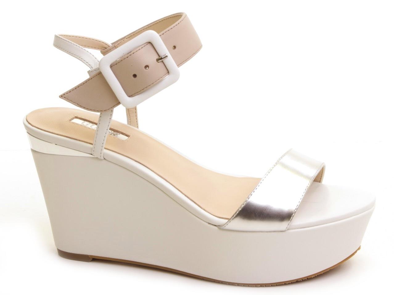 Wedge Sandals Guess - 465 FLDYI2 LEA03