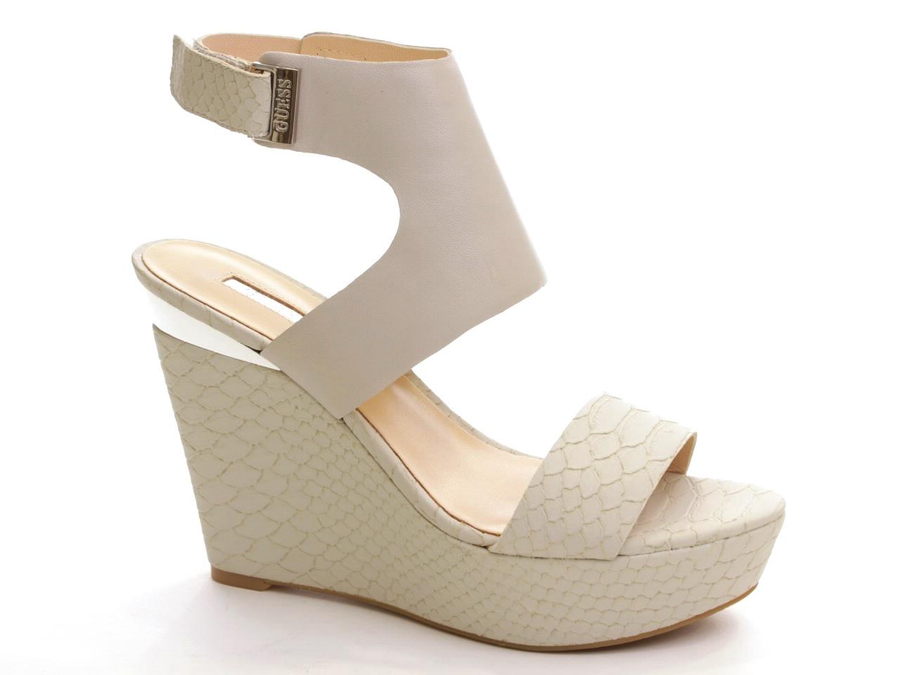 Sandálias de Cunha Guess - 465 FL20PPLEA03