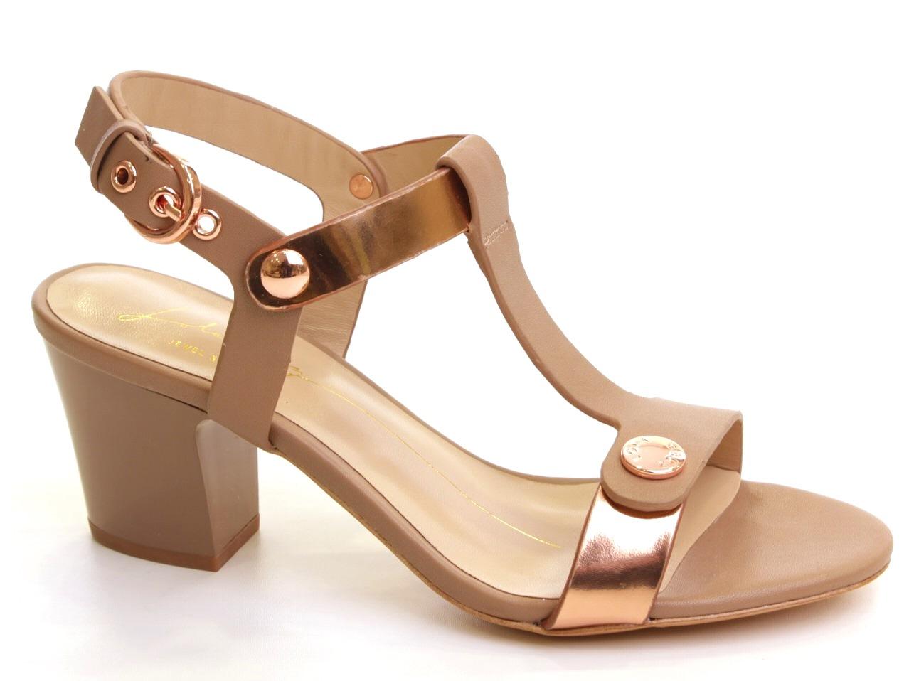 Sandálias de Salto Lola Cruz - 622 041Z68BK