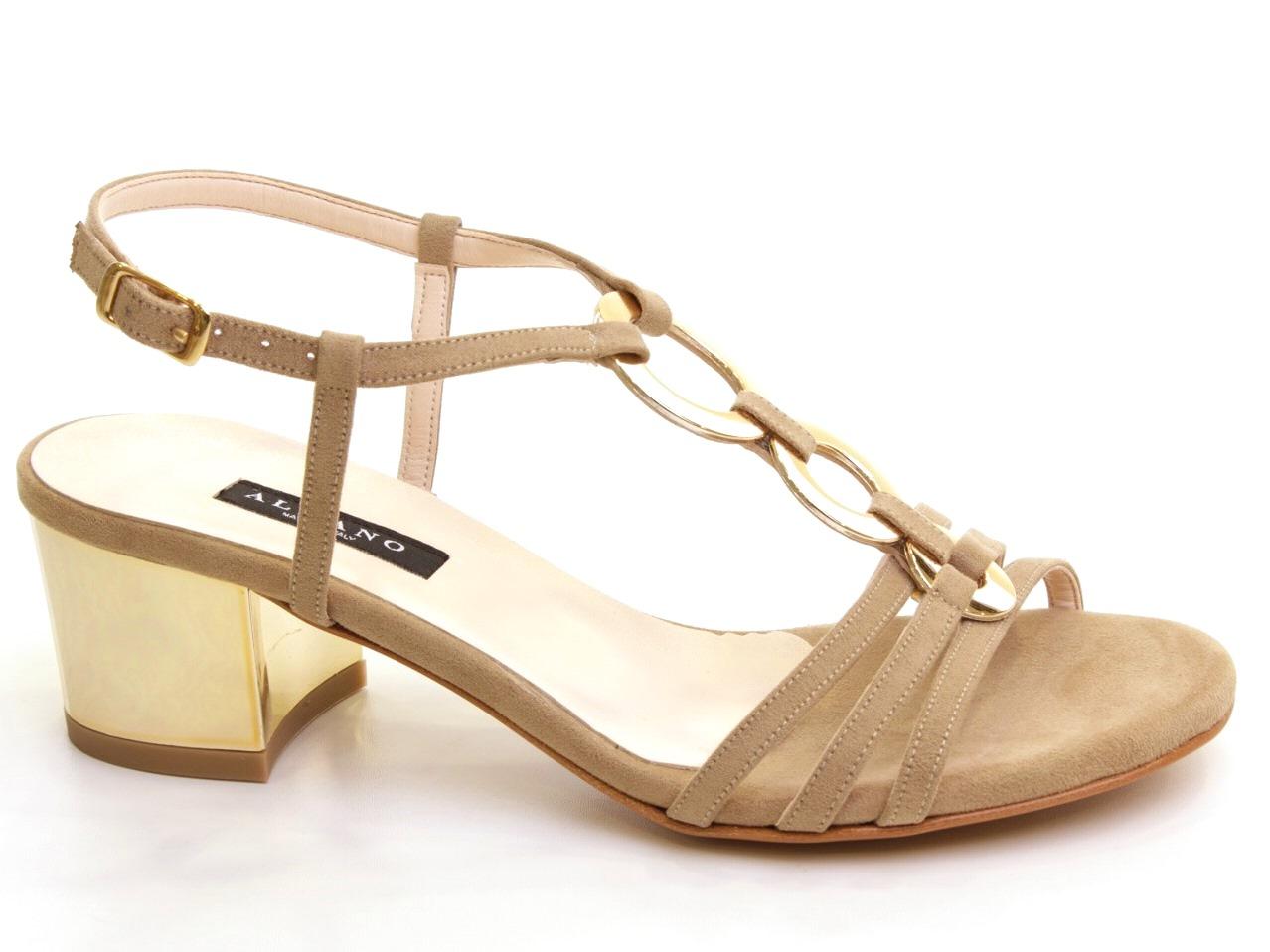 Sandálias de Salto Albano - 627 5116