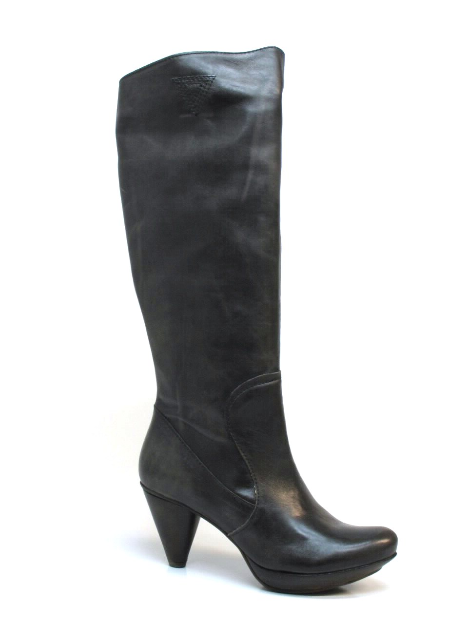 Heel Boots Chocolate Negro - 46750345