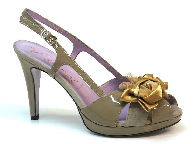 Sandálias de Salto Vannel - 0017380