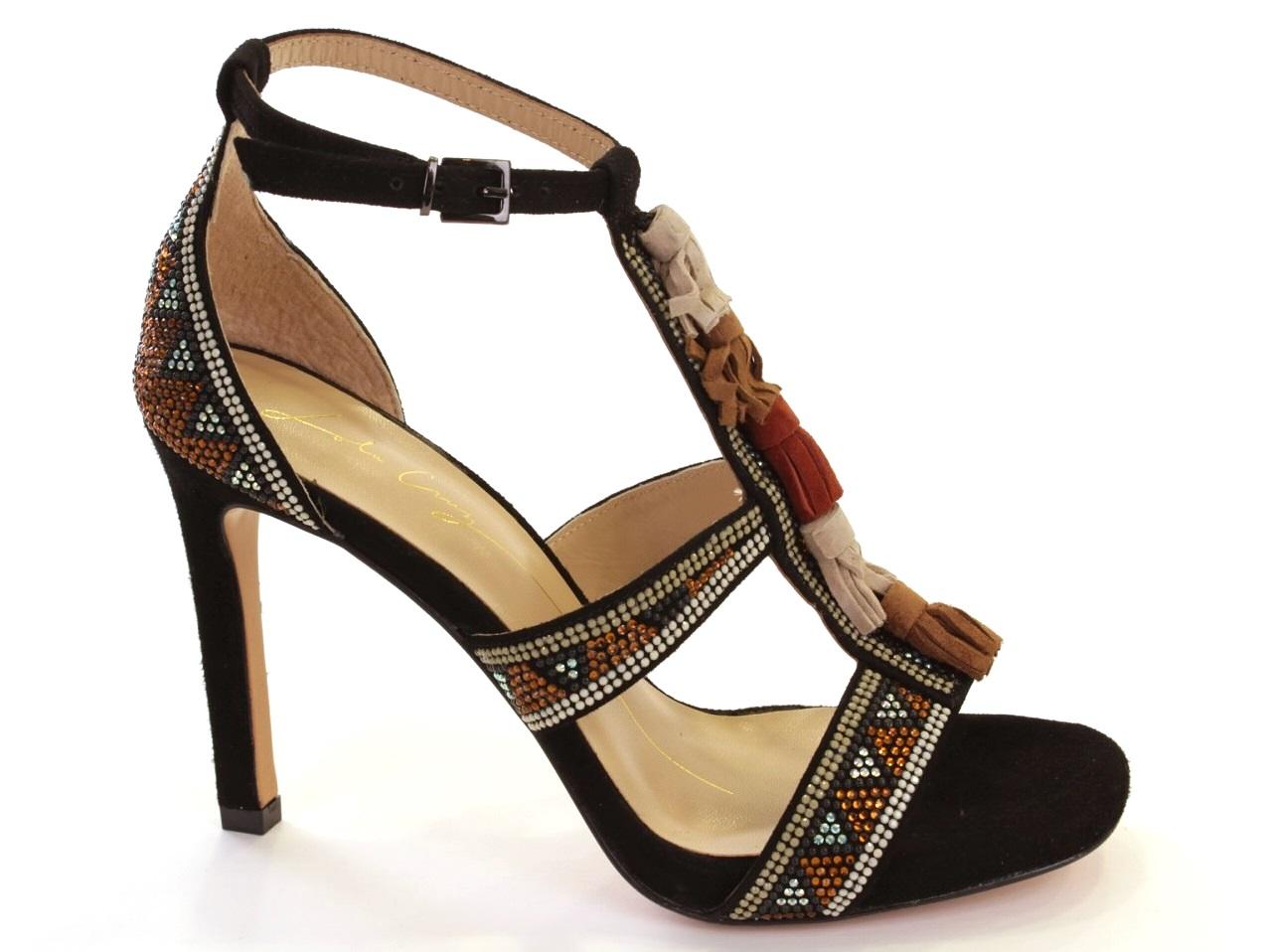 Heel Sandals Lola Cruz - 596 307Z04BK
