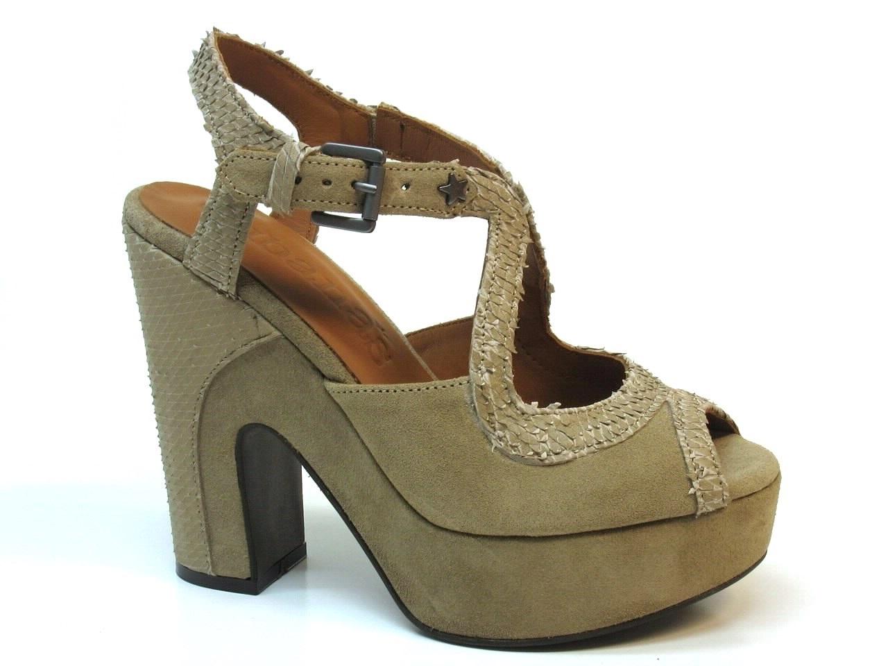 Heel Sandals Cubanas - 334 SHOW120
