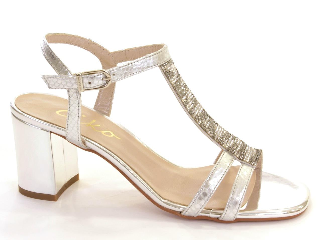 Sandálias de Salto Giko - 476 14977