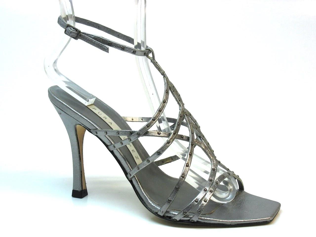 Sandálias de Salto Pura Lopez - 353K123