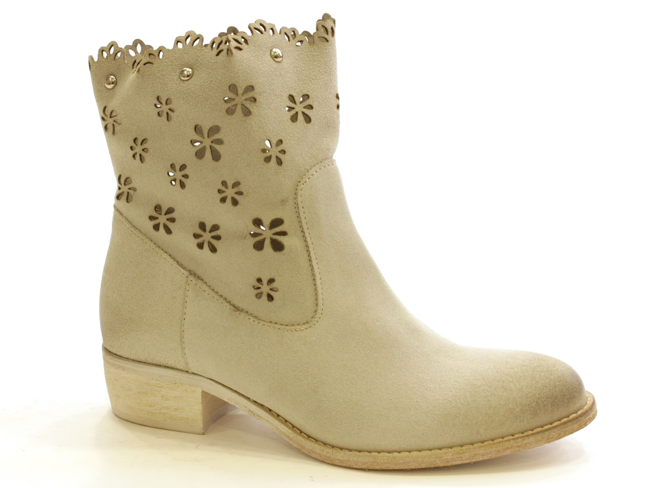 Flat Ankle Boots Sofia Costa - 085 6665