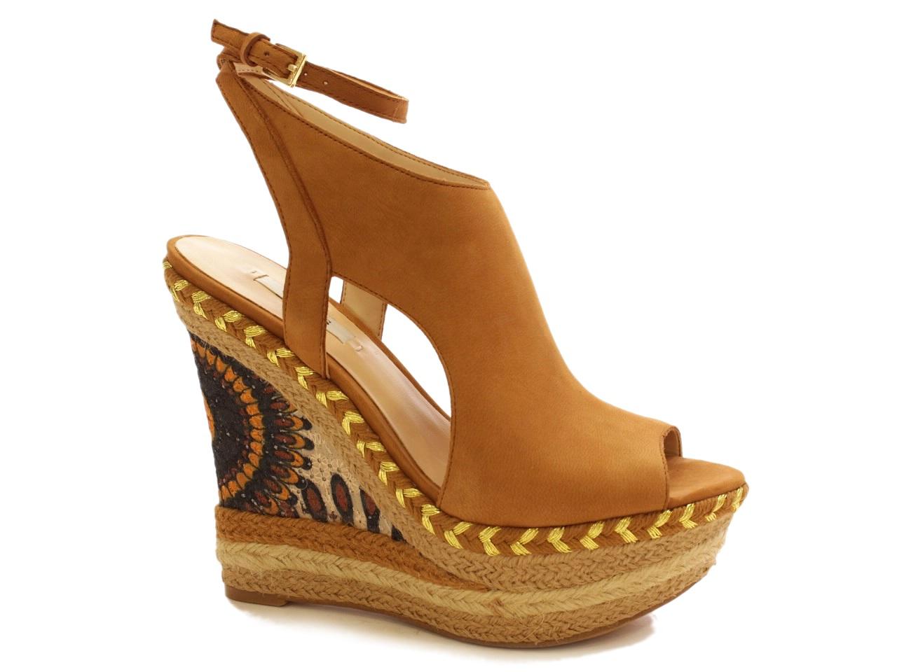 Sandálias de Cunha Guess - 465 FL5SNZLEA04