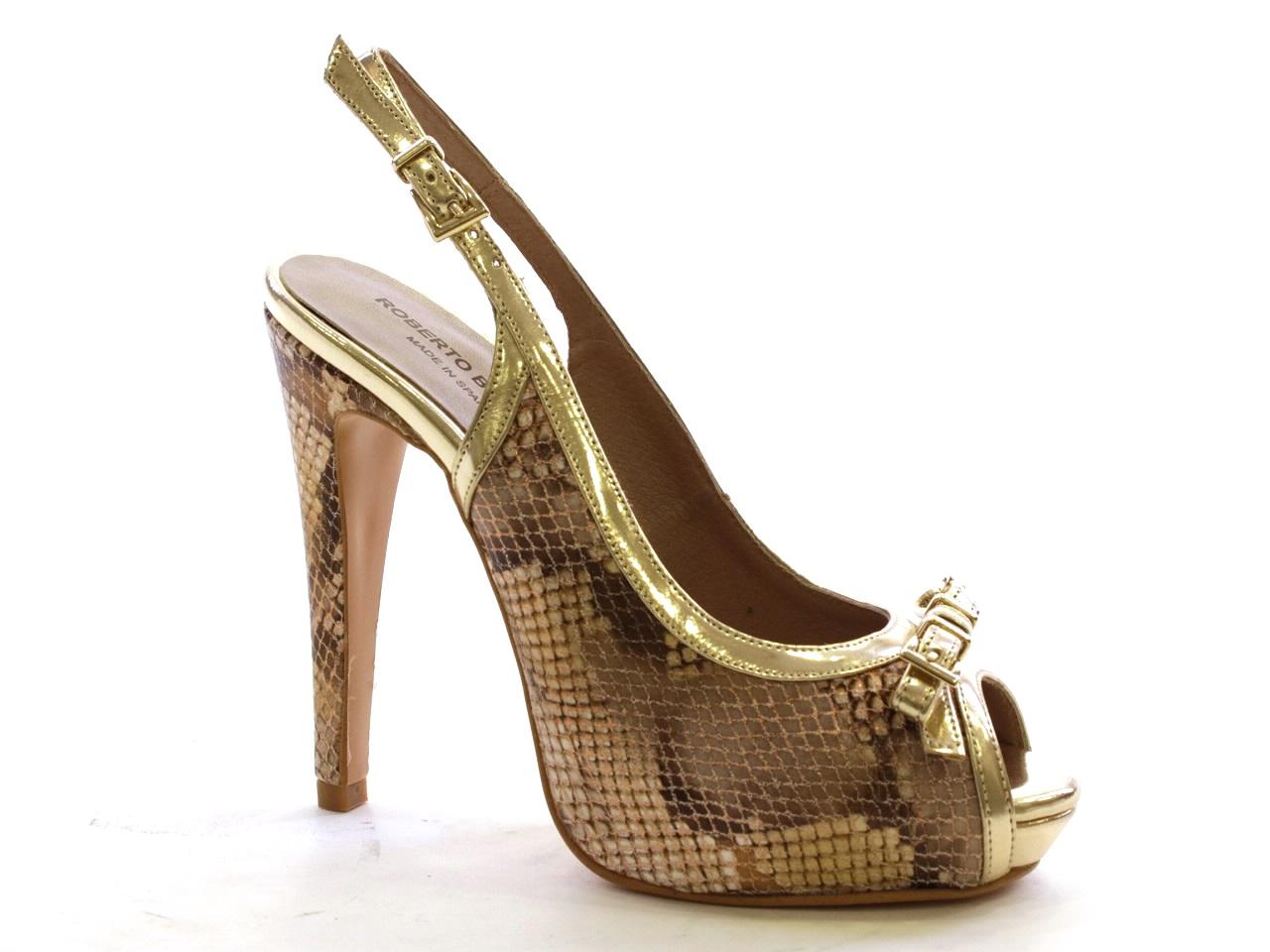 Sandálias de Salto Roberto Botella - 387 M14425