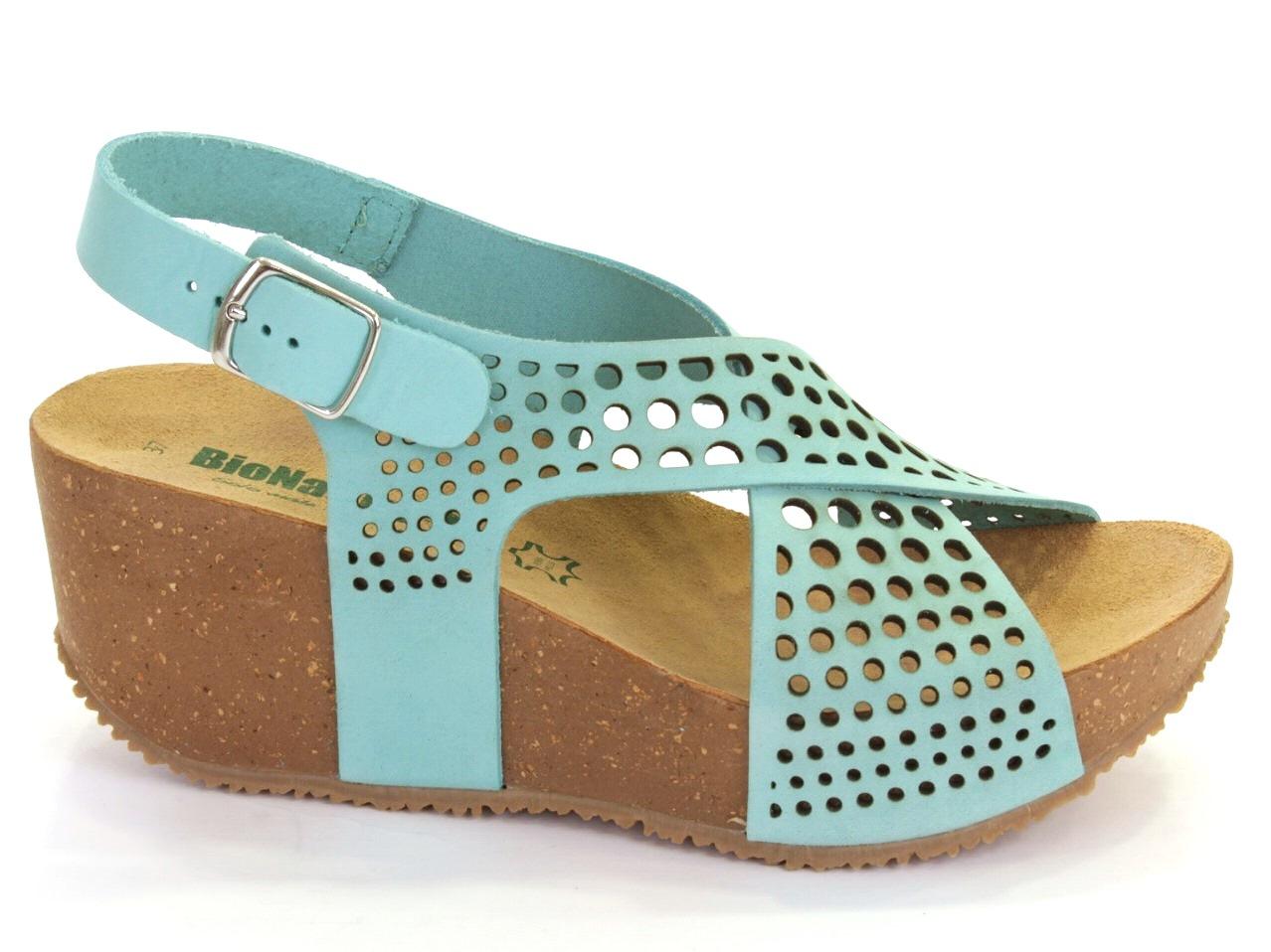 Wedge Sandals Bionatura - 328 24 ANTIGUA LASER