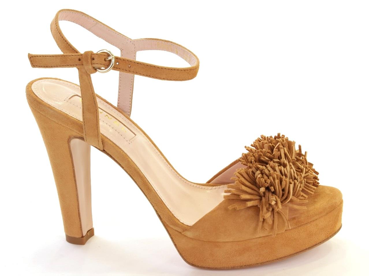 Sandálias de Salto Vannel - 001 8668