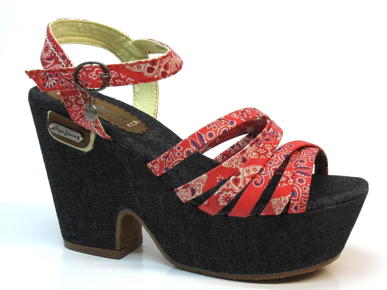 Heel Sandals Pepe Jeans - 608 DUB-270D