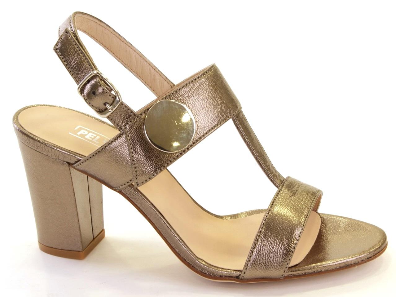 Sandálias de Salto Sofia Costa - 085 8555