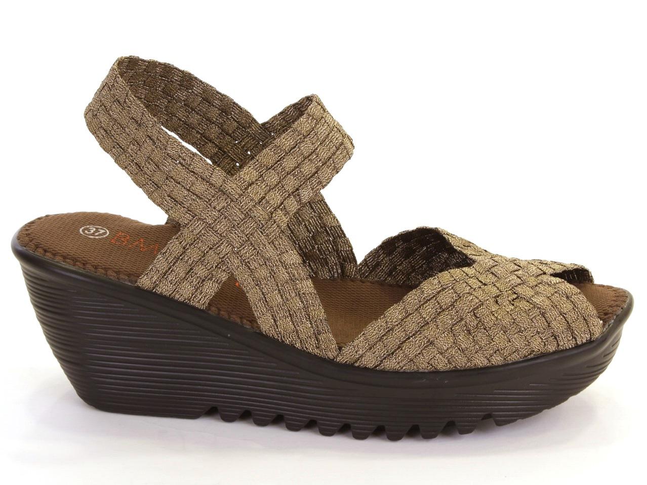Sandálias de Cunha Bernie Mev - 632 FAME