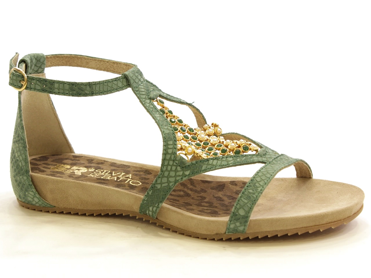Flat Sandals Silvia Rebatto - 019 S9036