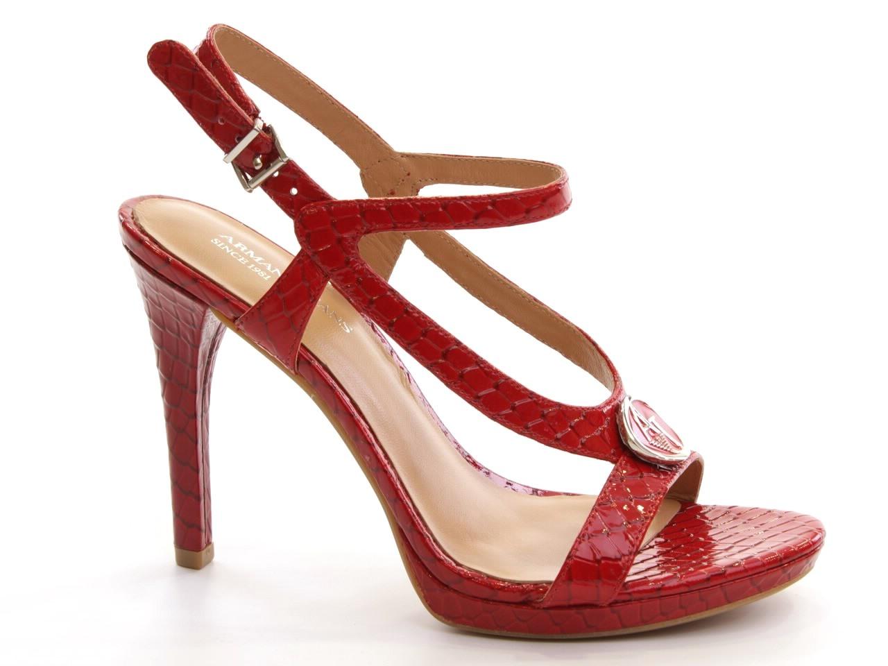 Sandálias de Salto Armani, Emporio - 529 A55E1