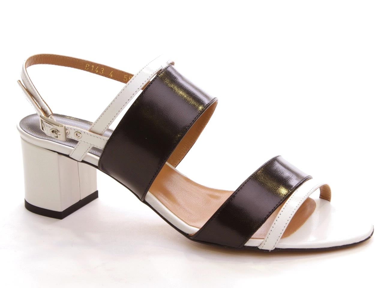 Sandálias de Salto Vannel - 001 8143
