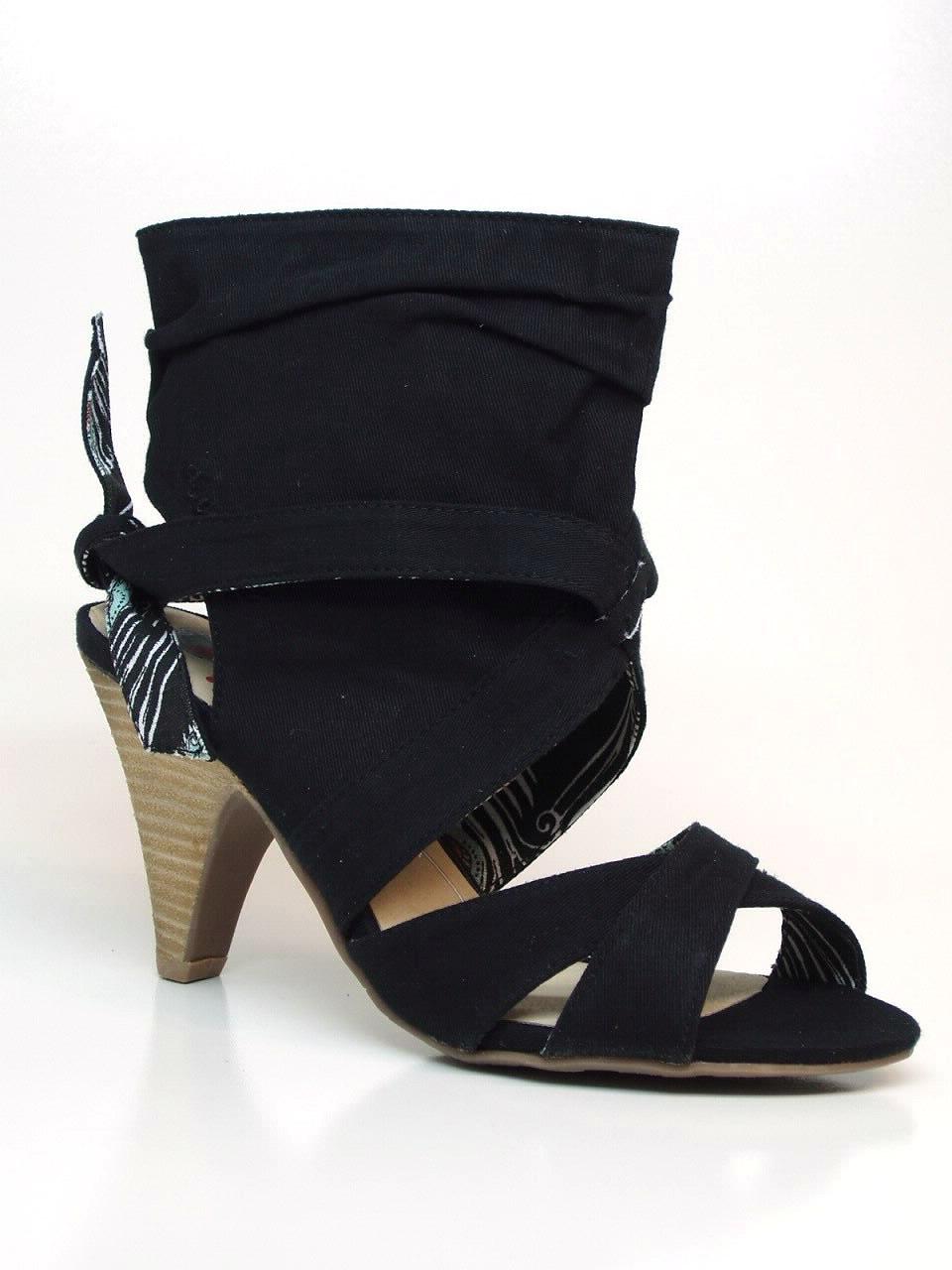 Sandálias de Salto Coolway - 435SAMURAI