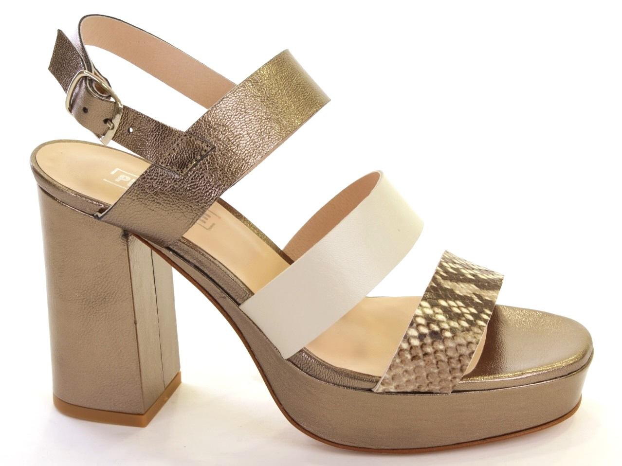 Sandálias de Salto Sofia Costa - 085 8508
