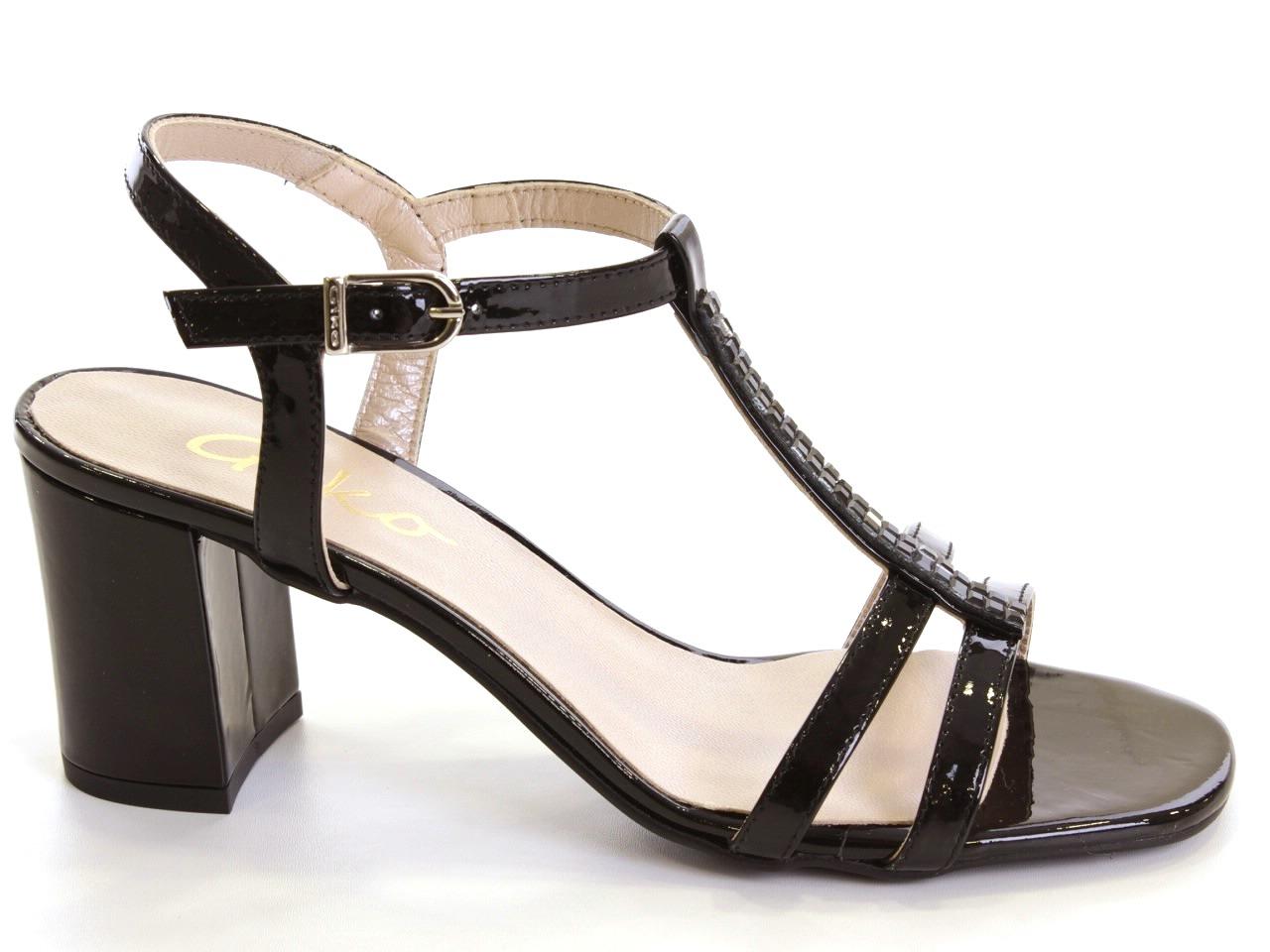Sandálias de Salto Giko - 476 14978
