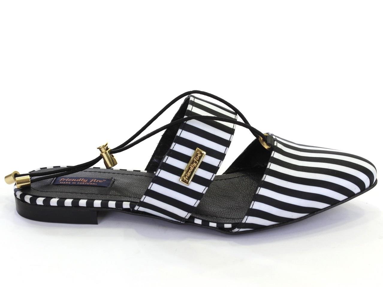 Chaussures Plates, Ballerine, Mocassins Friendly Fire - 648 FRIDA STRIPES
