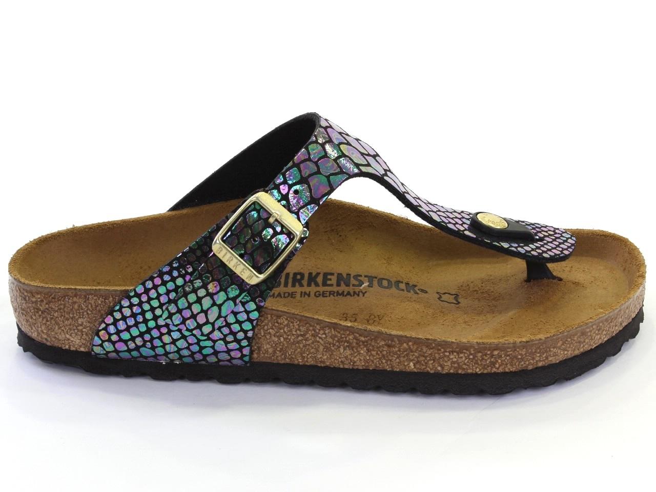 Sandales Plates Birkenstock - 663 GIZEH SHINY