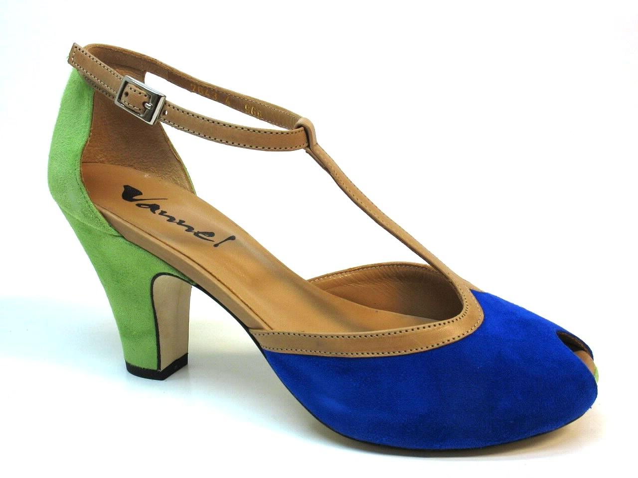 Sapatos de Salto Vannel - 001 7643
