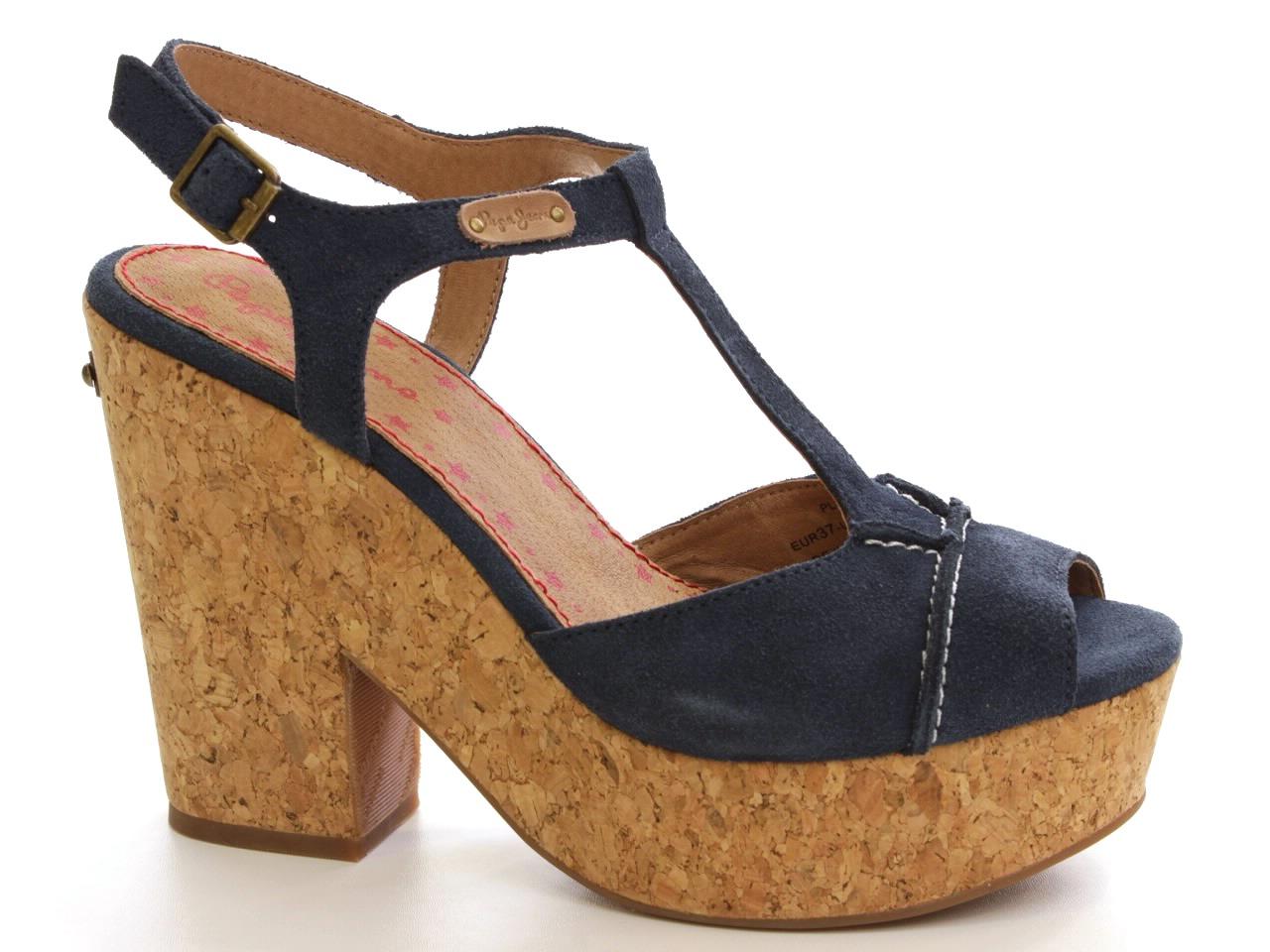 Sandálias de Salto Pepe Jeans - 608 PLS90069