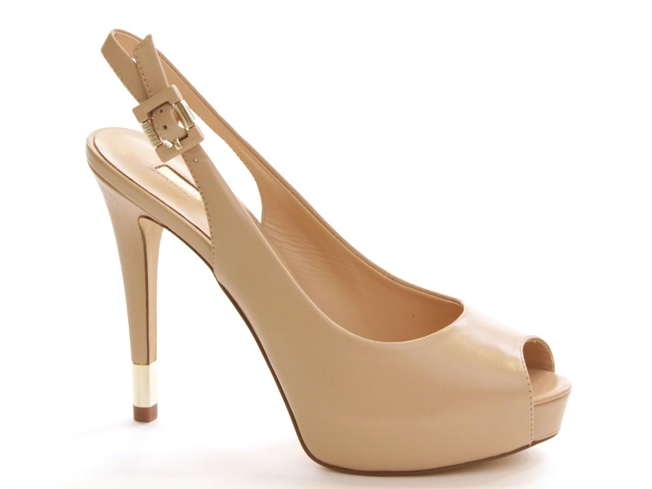 Sandálias de Salto Guess - 465 FL2HDELEA07