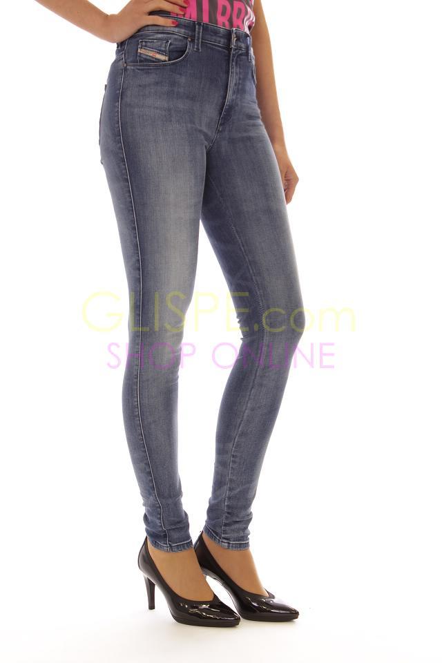 Jeans Diesel - 390M SKINZEE-HIGH 0829X