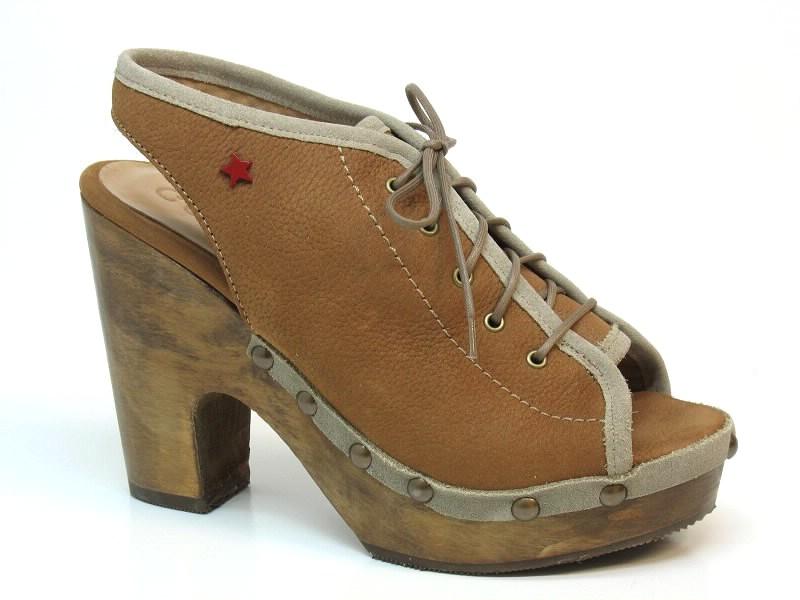 Sandálias de Salto Cubanas - 334MARIEL500