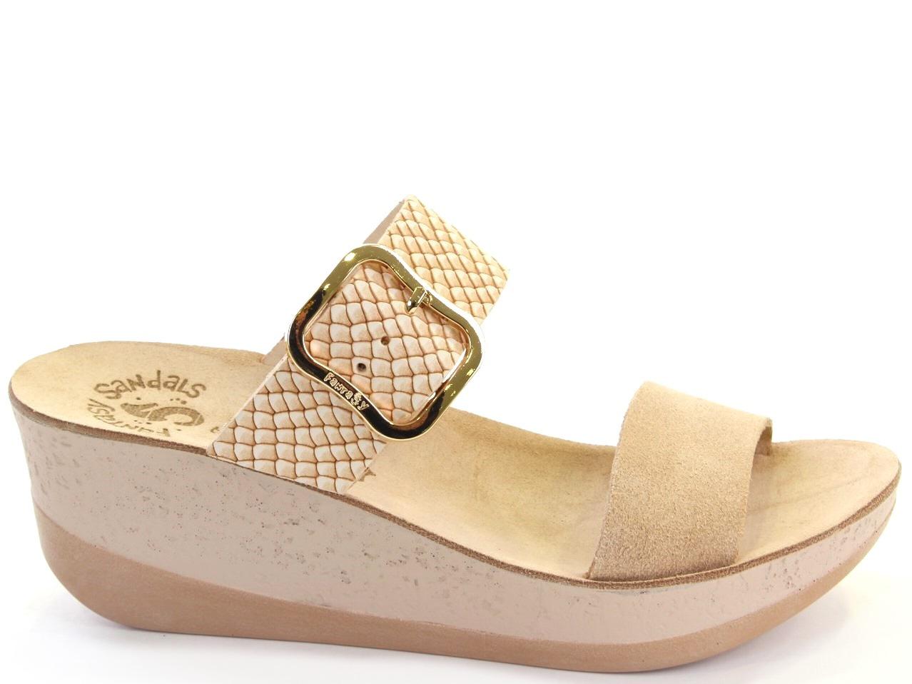 Sandálias de Cunha Fantasy Sandals - 662 S5002 ARTEMIS
