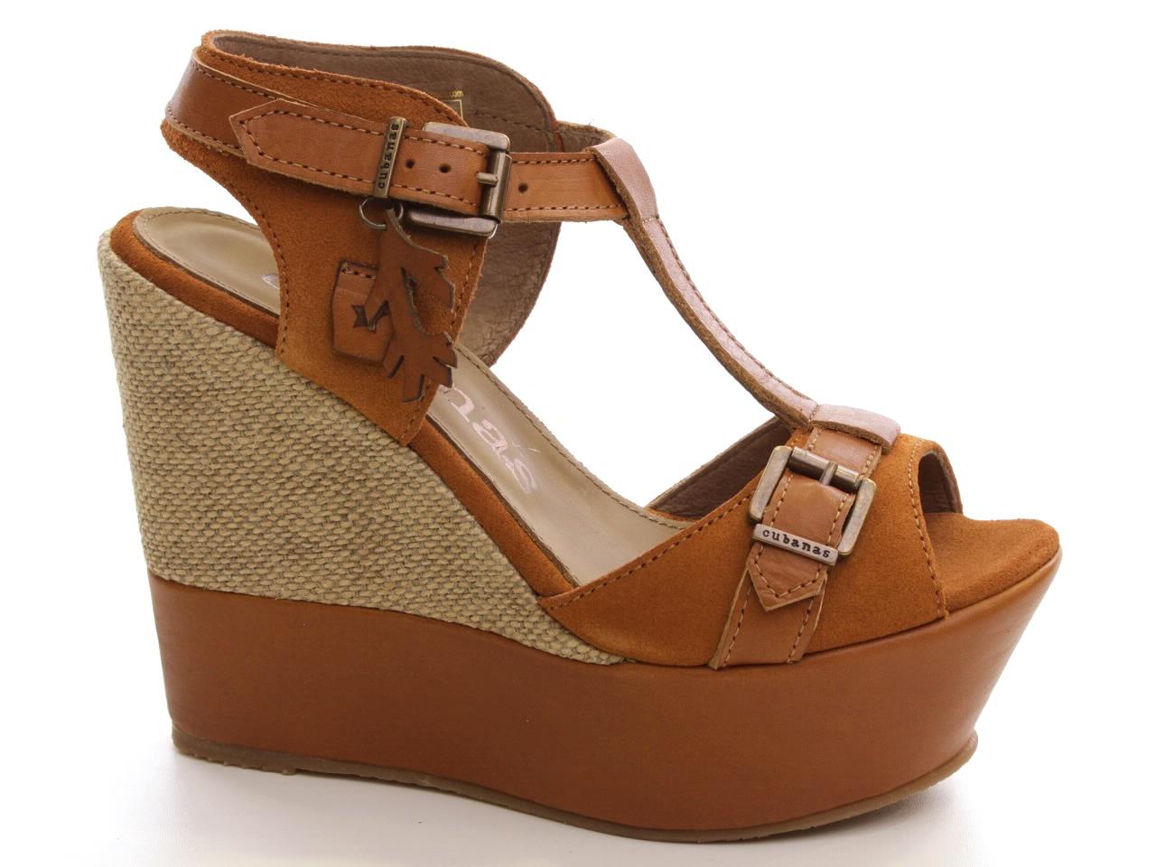 Sandálias de Cunha Cubanas - 334 SLIM400