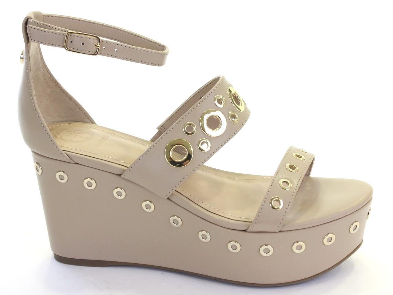 4a980ff6398 Wedge Sandals Guess NIOMI WEDGE SANDAL - 465 FLNIO1 ELE03