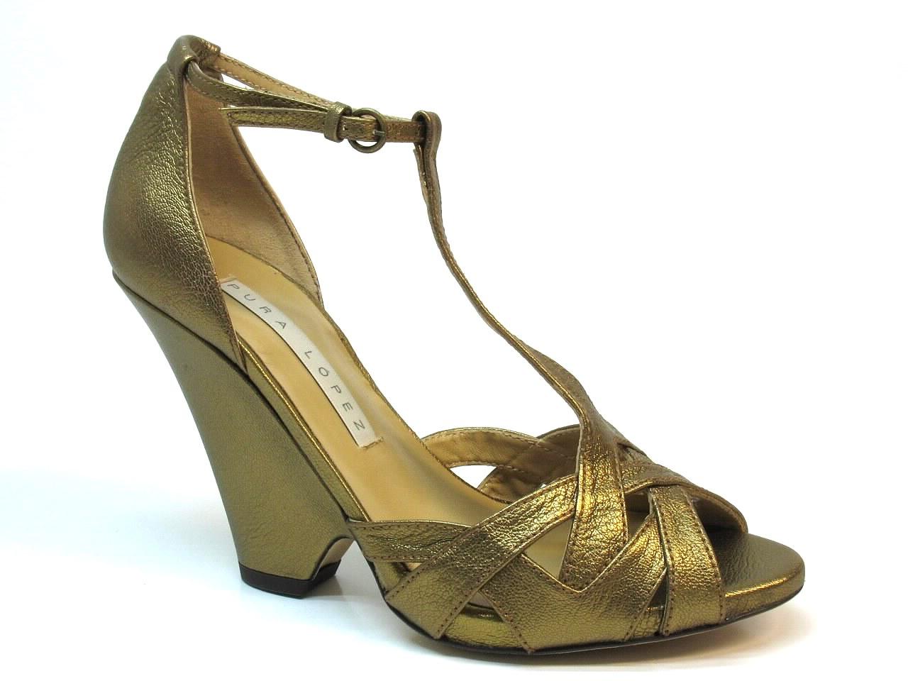 Sandálias de Salto Pura Lopez - 353K426