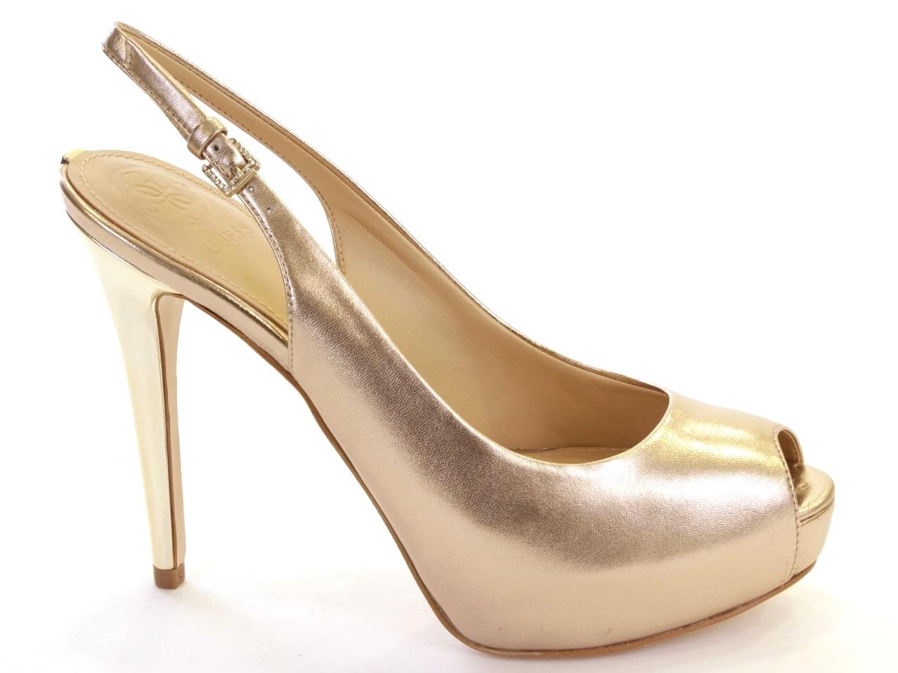Heel Sandals Guess - 465 FLHLE2 LEM05