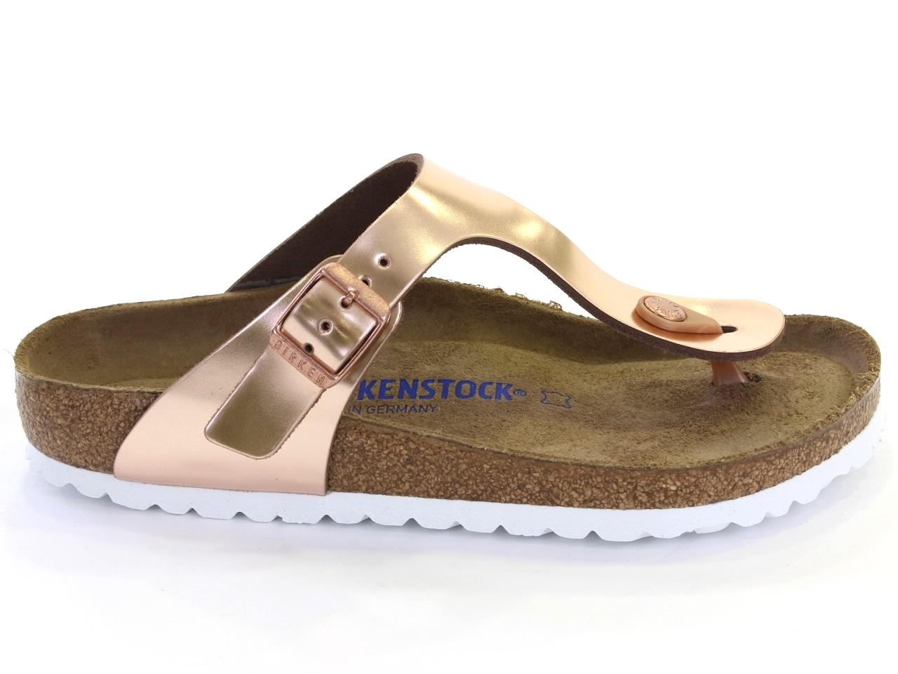 Flat Sandals Birkenstock - 663 GIZEH SPECTRAL