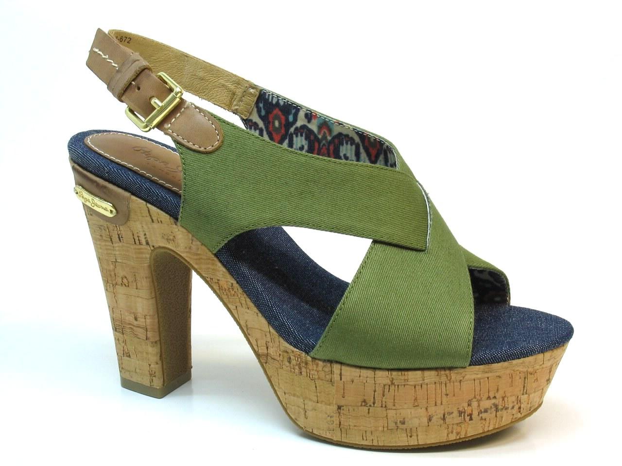 Sandálias de Salto Pepe Jeans - 608 PRN-271