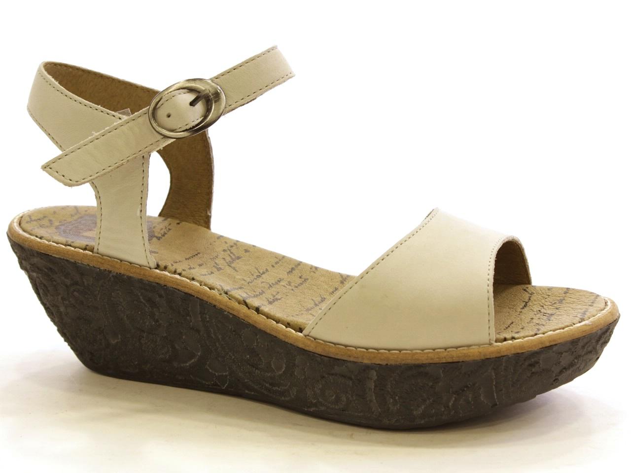 Sandálias de Cunha Dkode - 398 CORAL