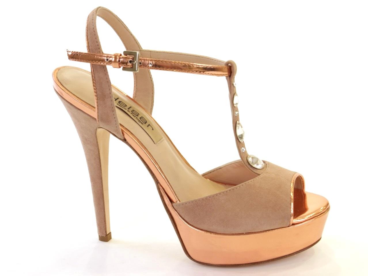 Sandálias de Salto Helsar - 032 10047