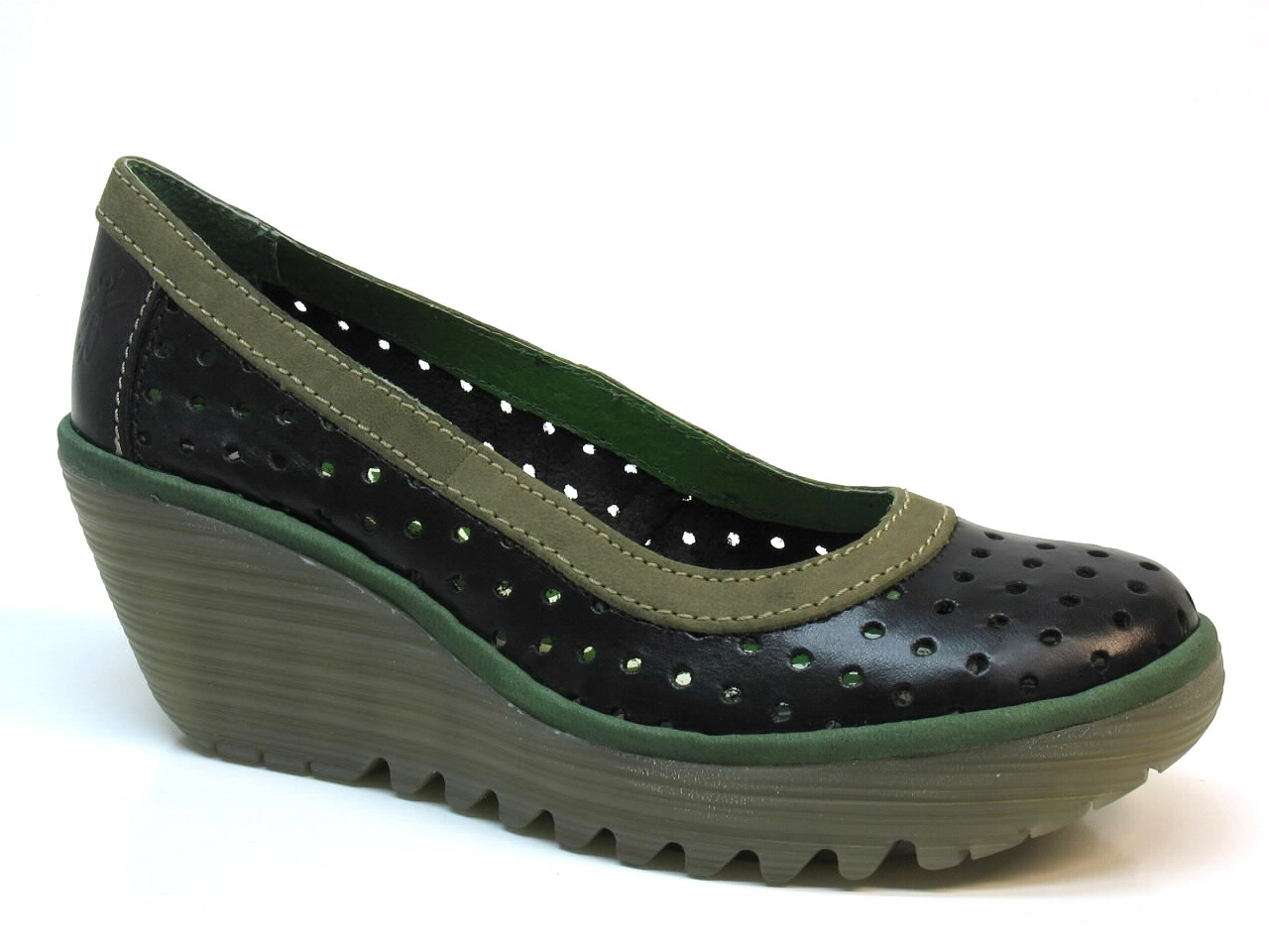 Wedge Shoes Fly London - 339 YEDI PERF