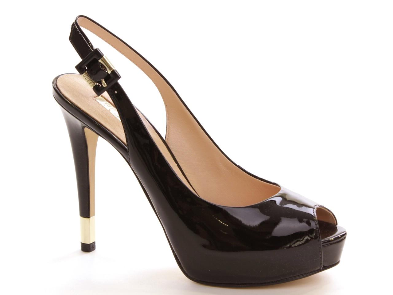 Heel Sandals Guess - 465 FL2HDEPAT07