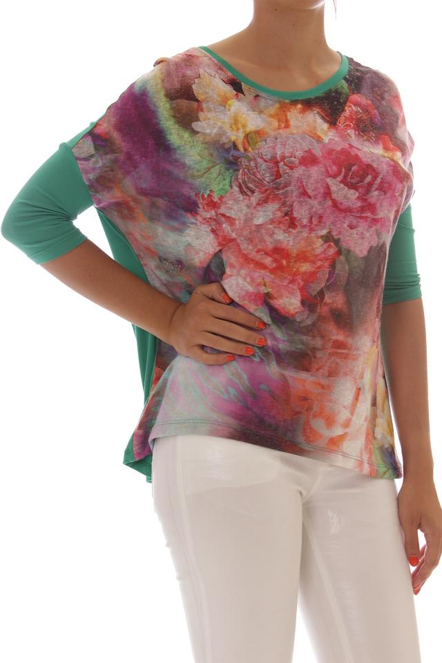 T-shirts, Tops, Tunics Fornarina - 354 KEW DIGITAL T.SHIRT