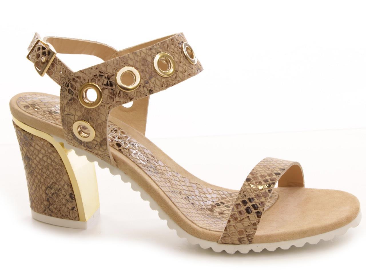 Sandálias de Salto Silvia Rebatto - 019 S9268