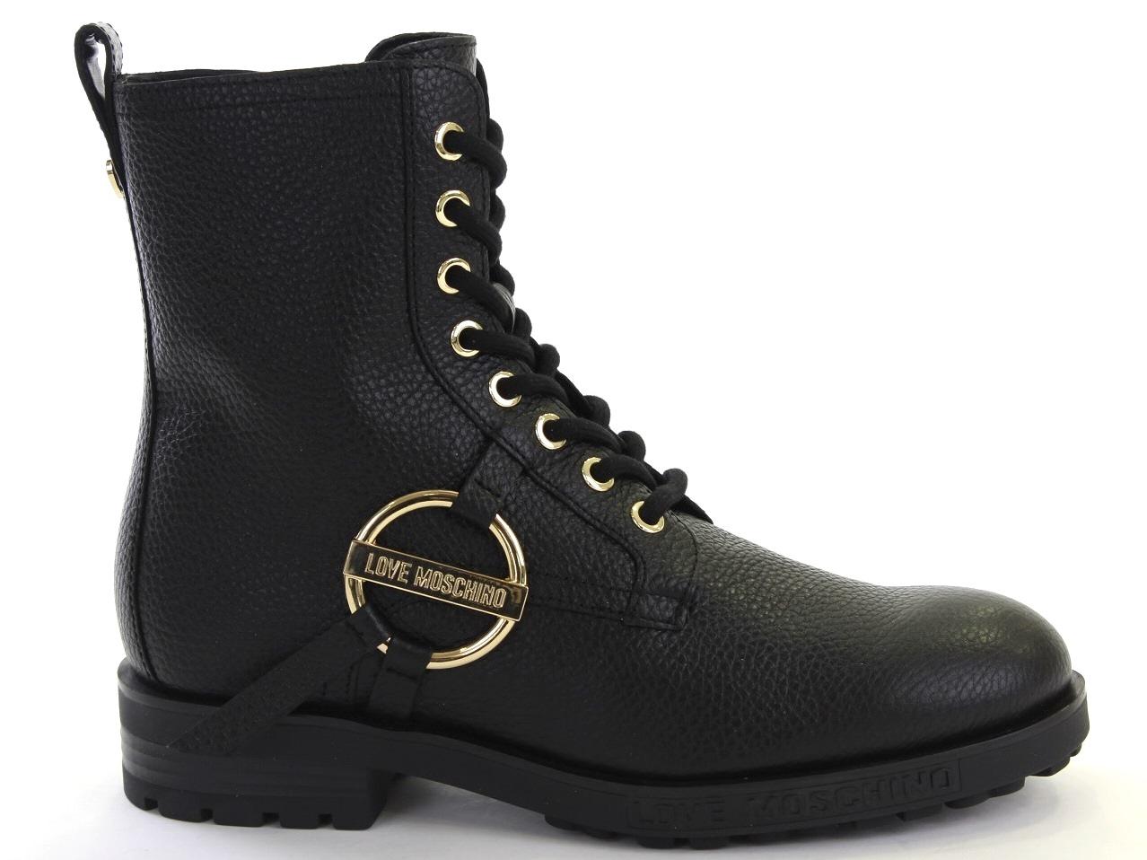 Flat Ankle Boots Love Moschino   Moschino - 664 JA24144GIDIC