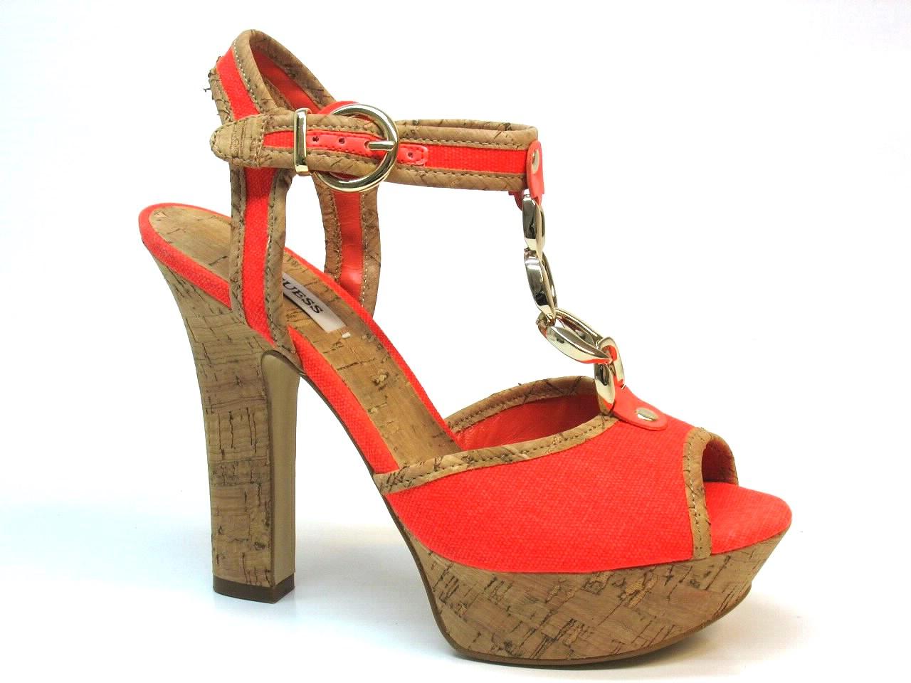 Sandálias de Salto Guess - 465 FL2PADFAB03