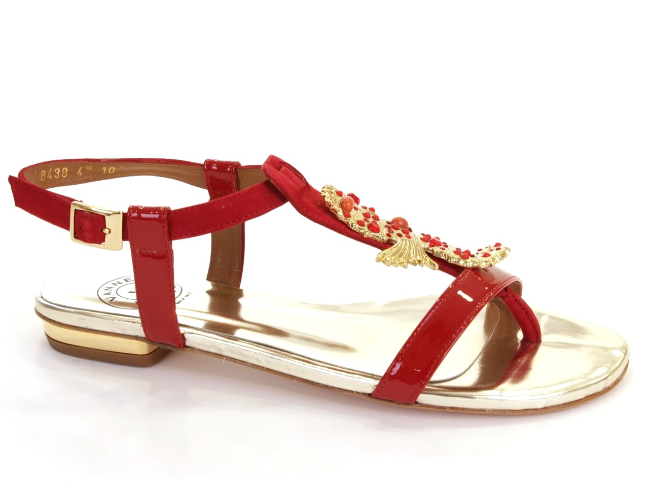 Sandales Plates Vannel - 001 8438