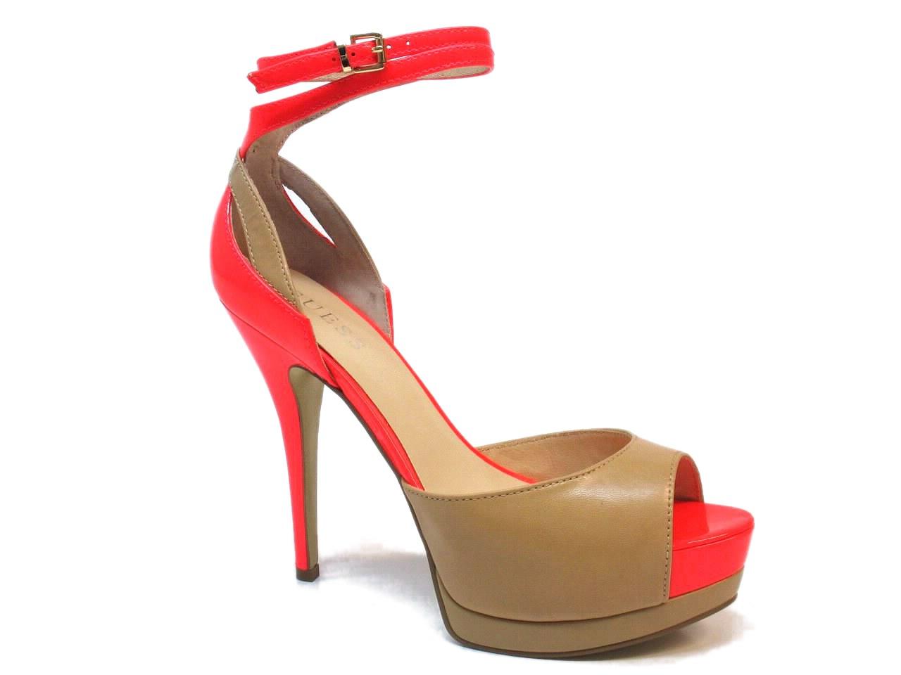 Heel Sandals Guess - 465 FL1GAOLEA07